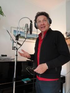 Erhard Dietl im Studio