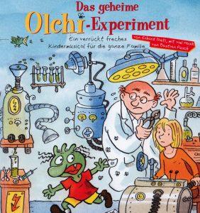 Plakatmotiv 'Das geheime Olchi-Experiment'